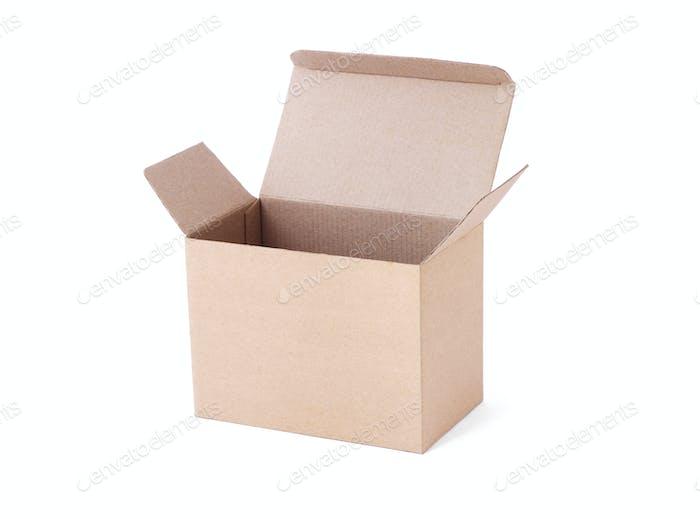 Empty carton box