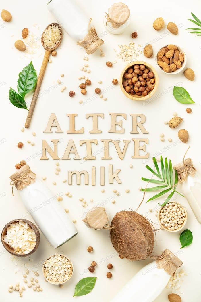 Non dairy plant based milk