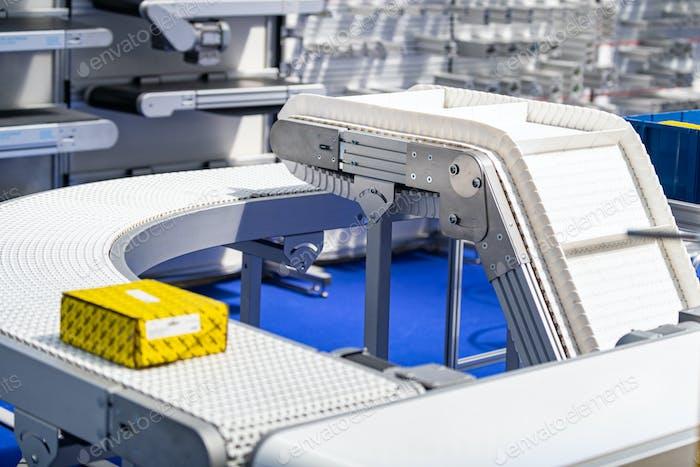 Industrielle Fertigung Förderband Roller Track System