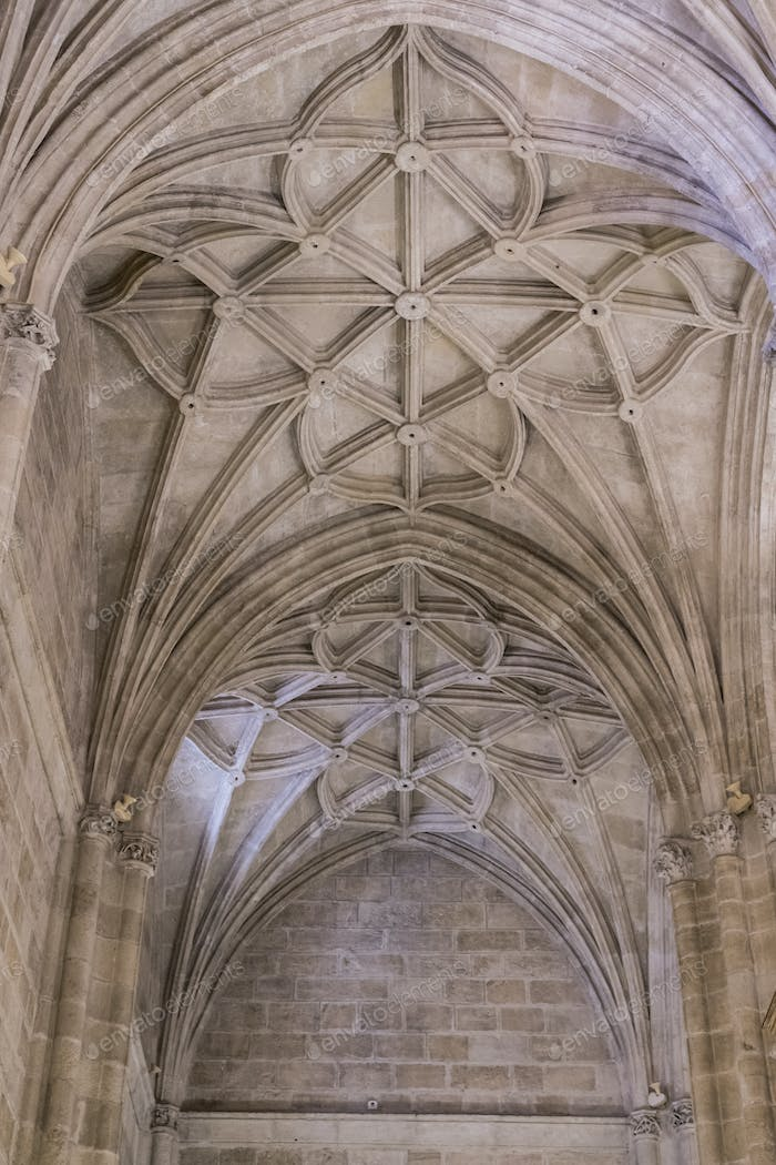 Interior of Cathedral of the incarnation, Almeria, Andalusia, Spain