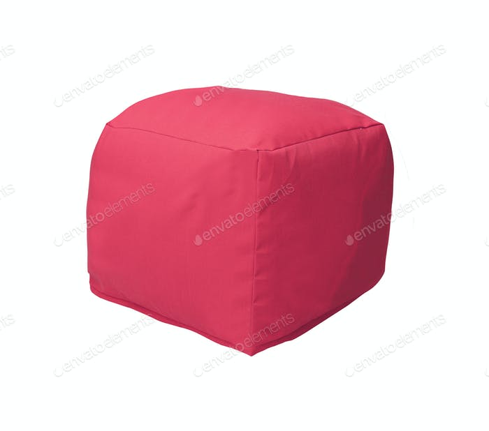 beanbag isolated on white