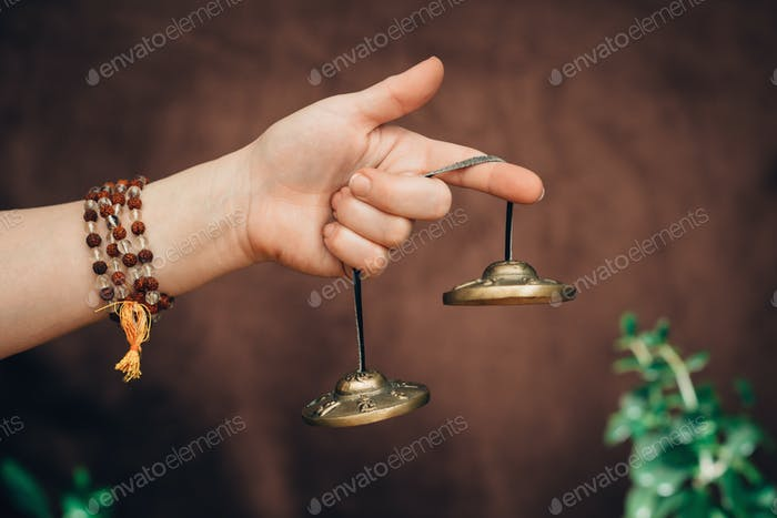 Tibetan bells in sound therapy