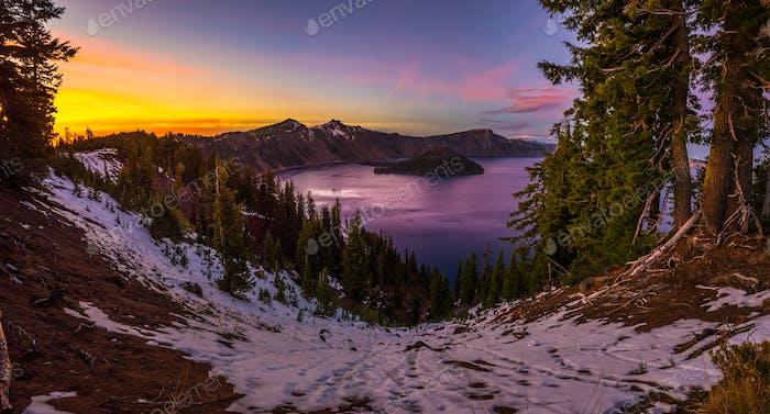Krater Lake Nationalpark Oregon