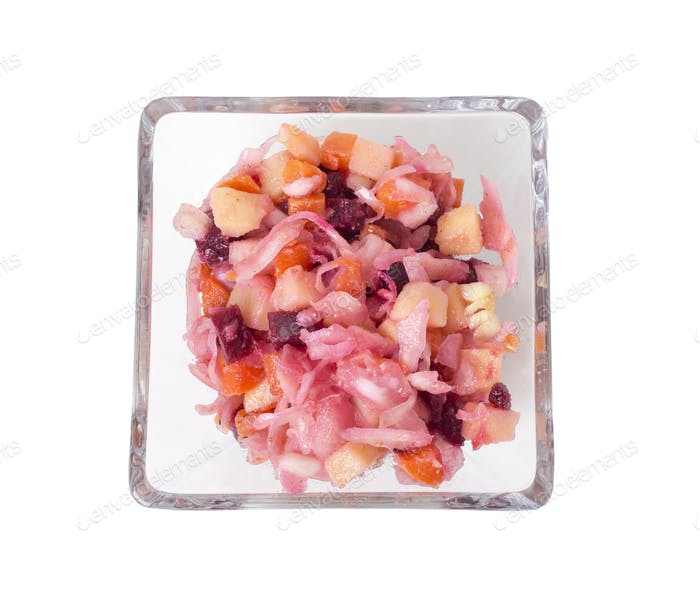 Russischer Rote-Bete-Salat.