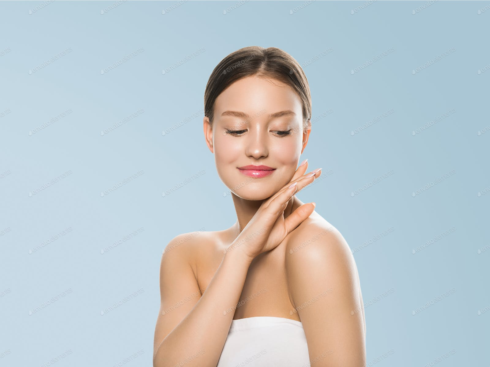 Skin Care Woman Beauty Natural Make Up Photo By Kiraliffe On Envato Elements
