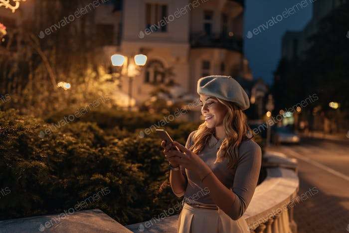 City life at nightfall