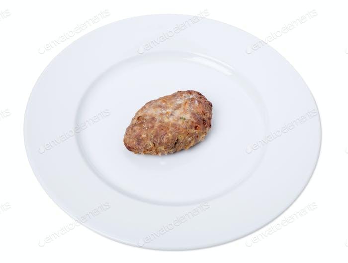 Delicious pork cutlet.