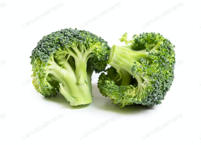 Fresh broccoli isolated