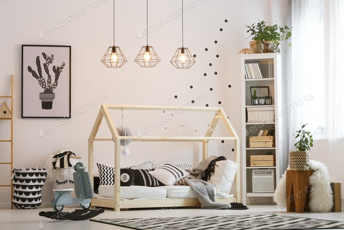 Trendy room for boy