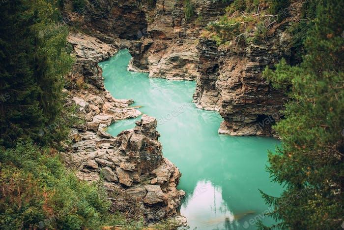 Gorges norvégiennes pittoresques