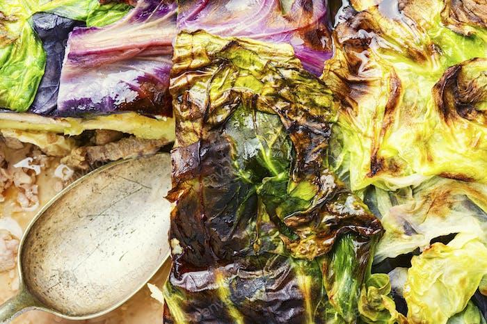 Lean vegetable gratin.