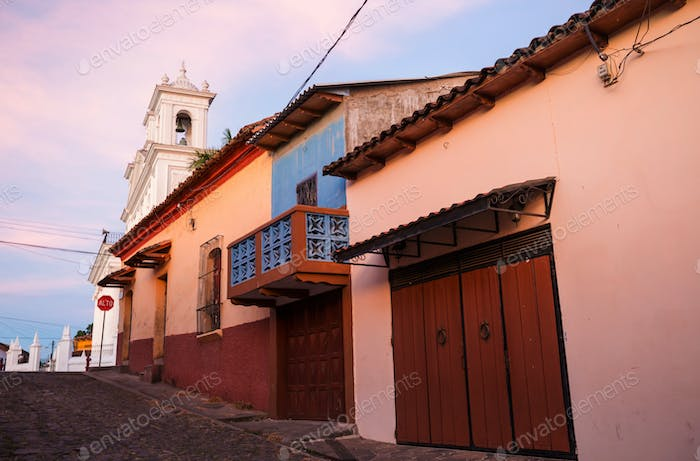 Colonial architecture in El Salvador