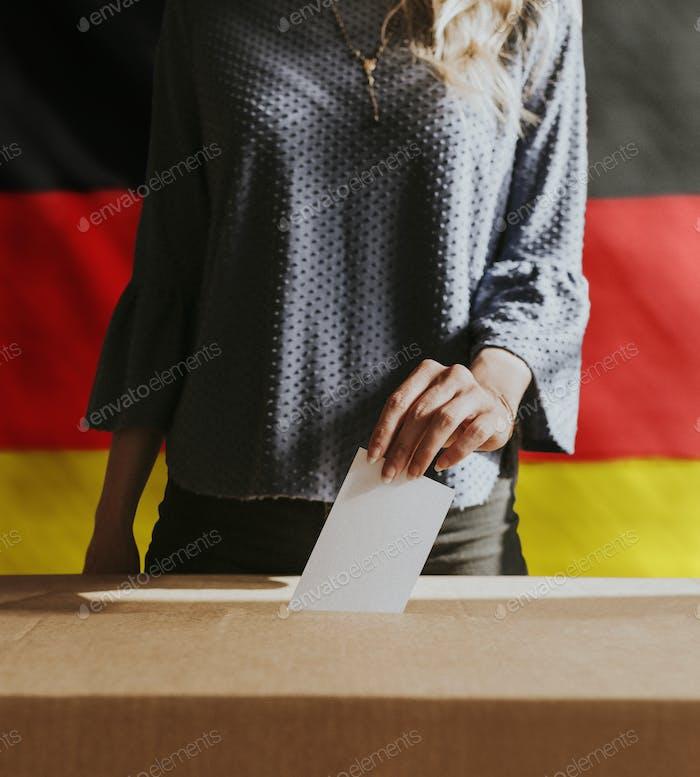 Encuesta de votación sobre democracia en Alemania