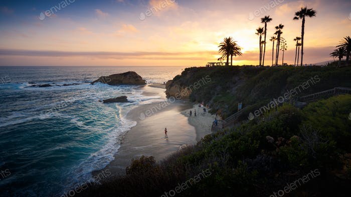 Thumbnail for Sunset at Laguna Beach