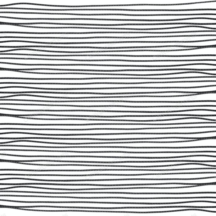 Elastic rope on the white background