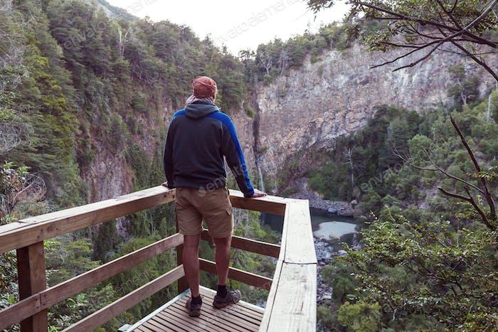 Wasserfall in Chile