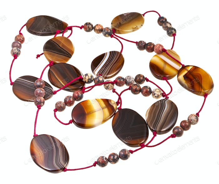agate lady's bead
