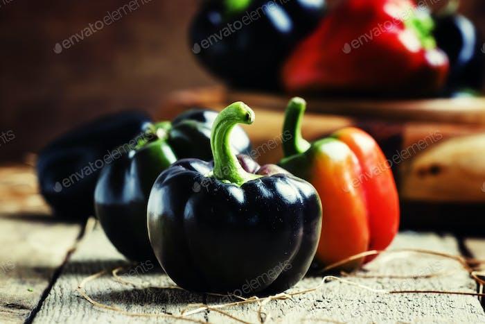 Black bell pepper