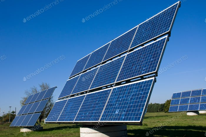Various solar energy panels