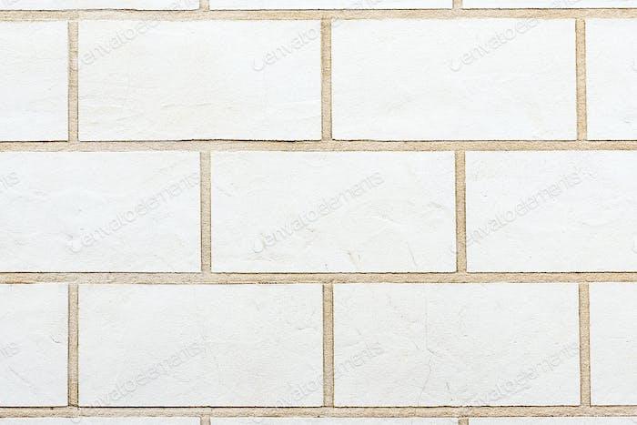 Weiße Backsteinwand Hintergrund