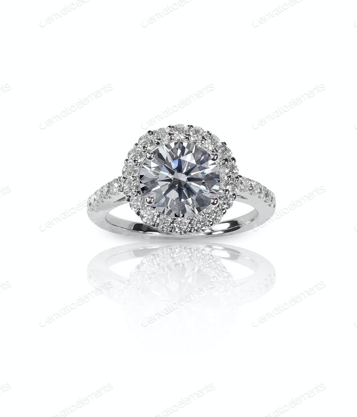 Thumbnail for Beautiful Diamond Wedding band engagement ring