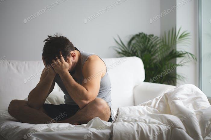 Sufriendo de insomnio
