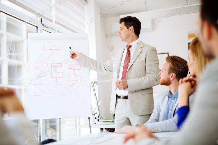 Business seminar and lecutre