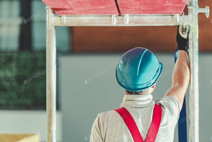Workers Safety on Scaffolding