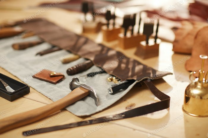 Special Tools For Leather Craftwork