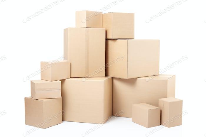 Kartons stapeln