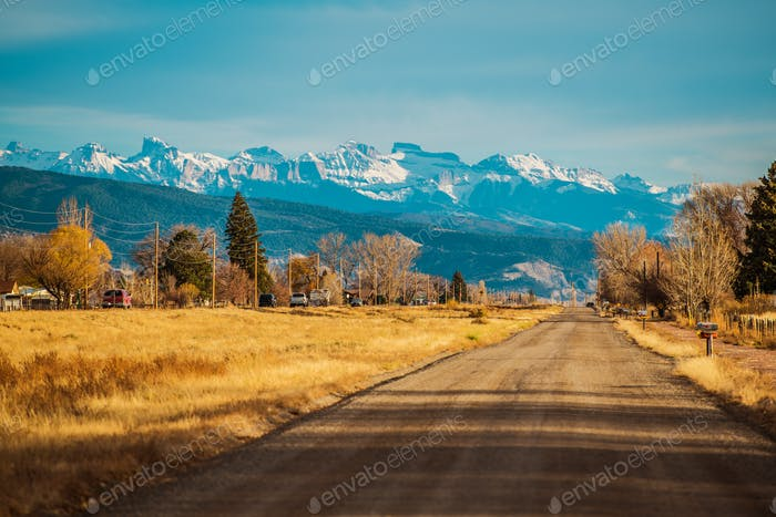 Durango Colorado US 550