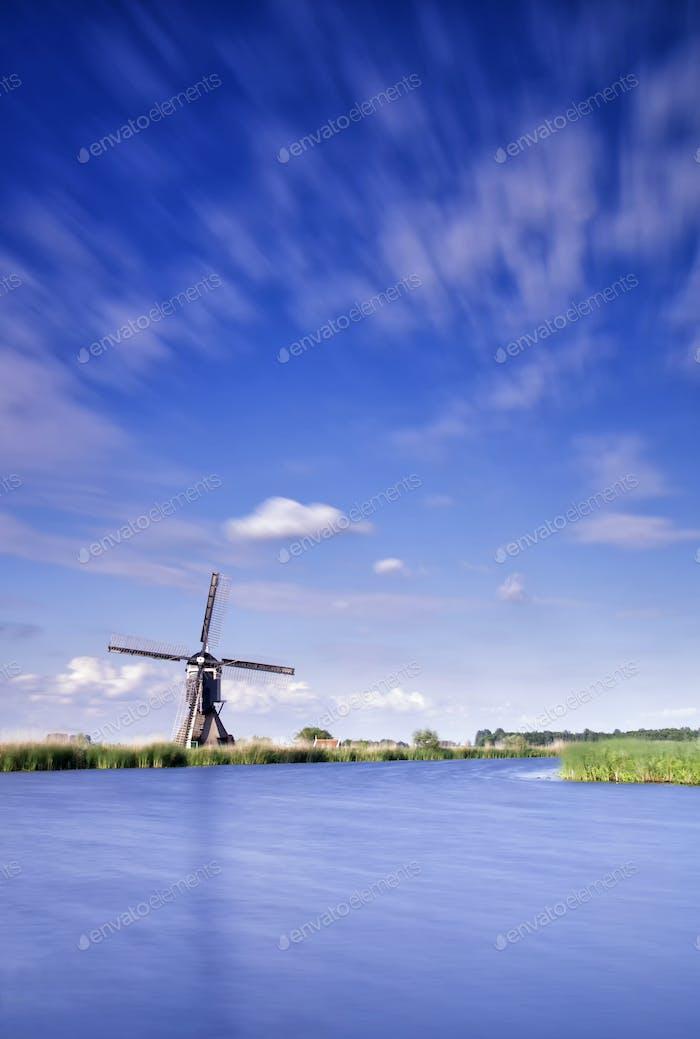 The Broekmill near Streefkerk