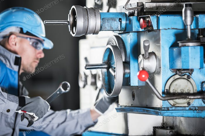 Lathe Machine Technician