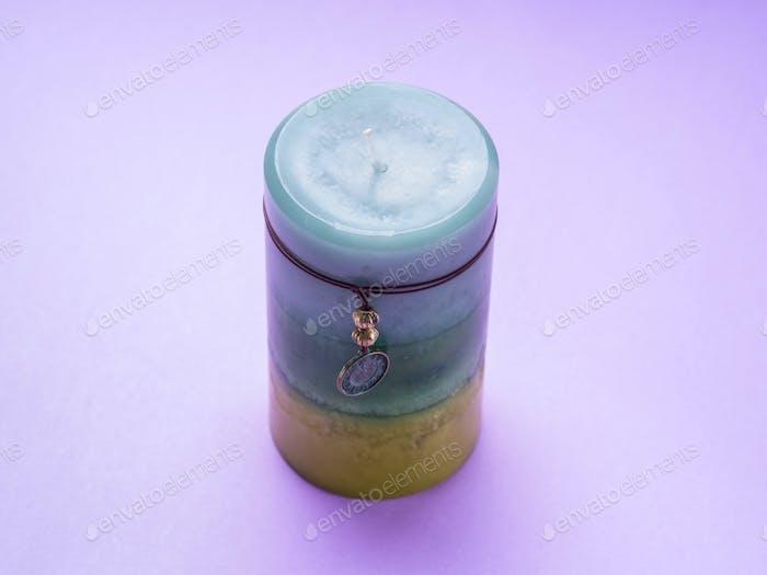 Aromatische Kerze zum Entspannen zu Hause