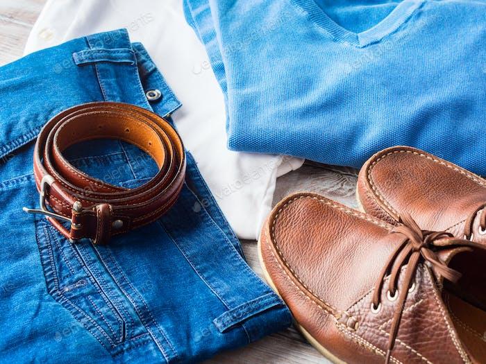 Мужская одежда и кожаные аксессуары