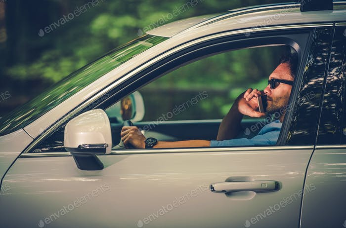 Driving with the Cell Phone