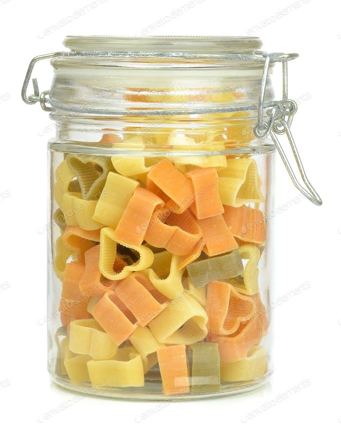 A Glass Jar of Pasta