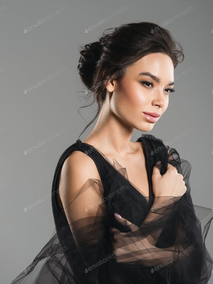 Asia woman elegant beautiful portrait