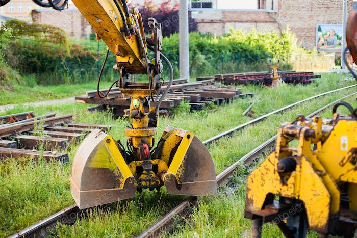 Railway construction equipment