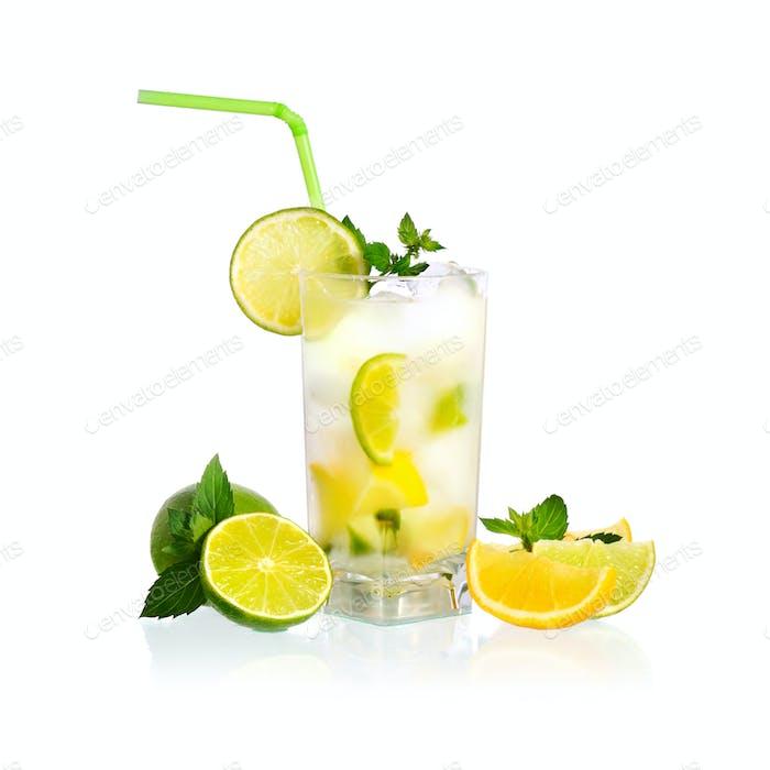 Gelbe Limonade