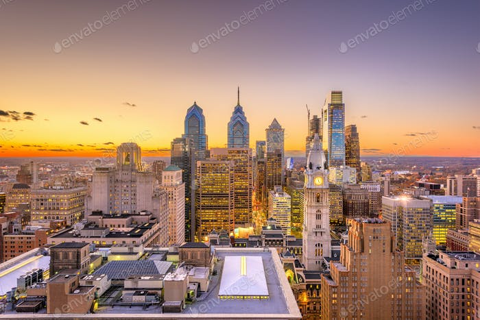 Philadelphia, Pennsylvania, USA Center City