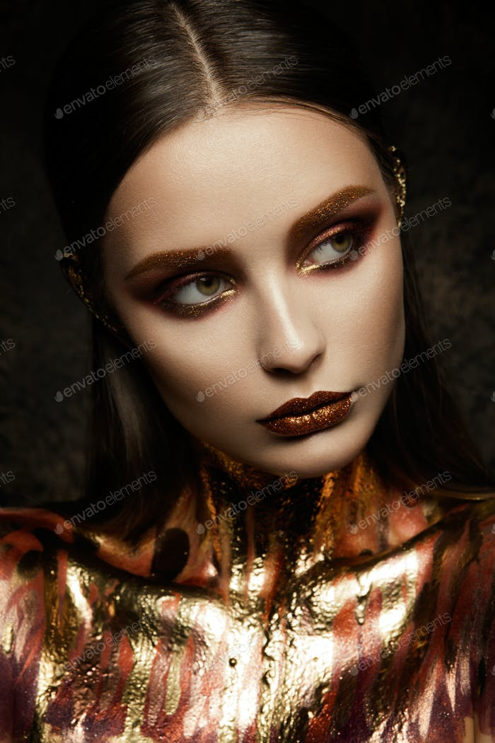 Gold Woman skin.