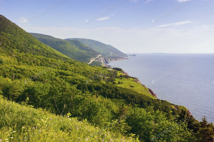 Cape Breton Highlands National Park in Nova Scotia