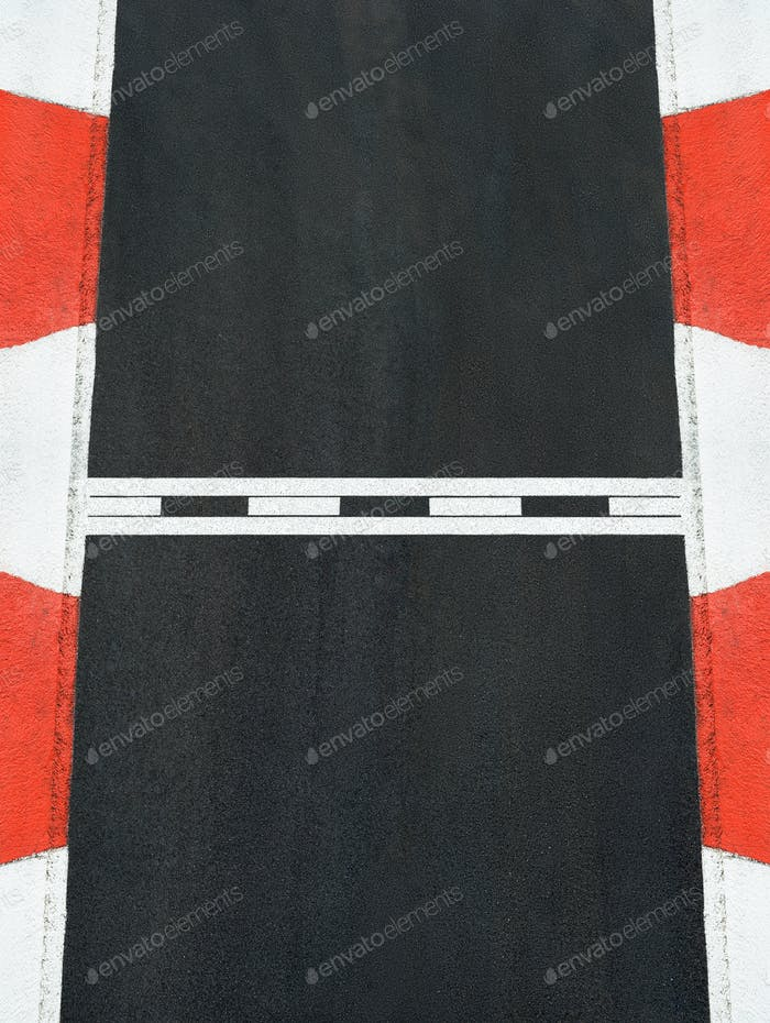 Start and Finish race line asphalt texture grand prix circuit