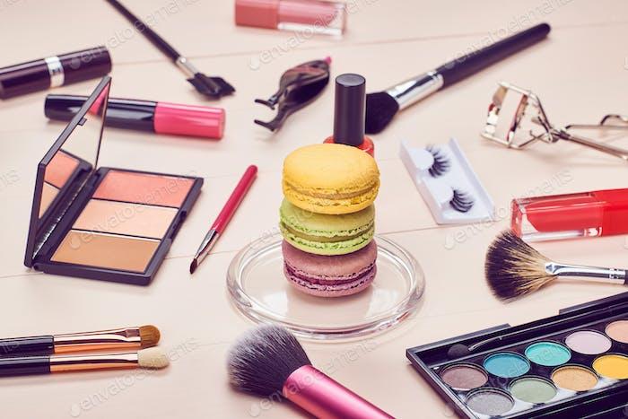 Cosmetics, still life