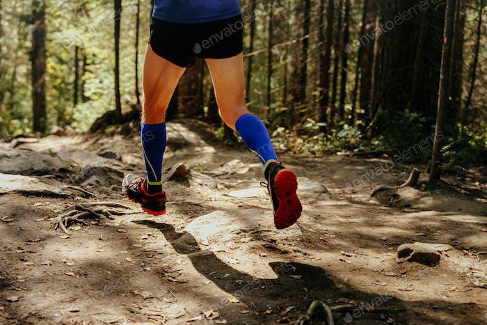 man runner dynamic running