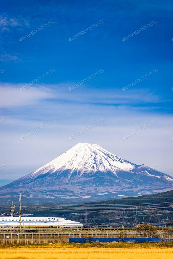Train and Fuji