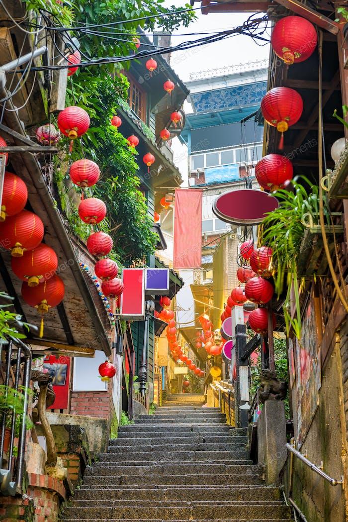 Jiufen, Taiwan Alleyway