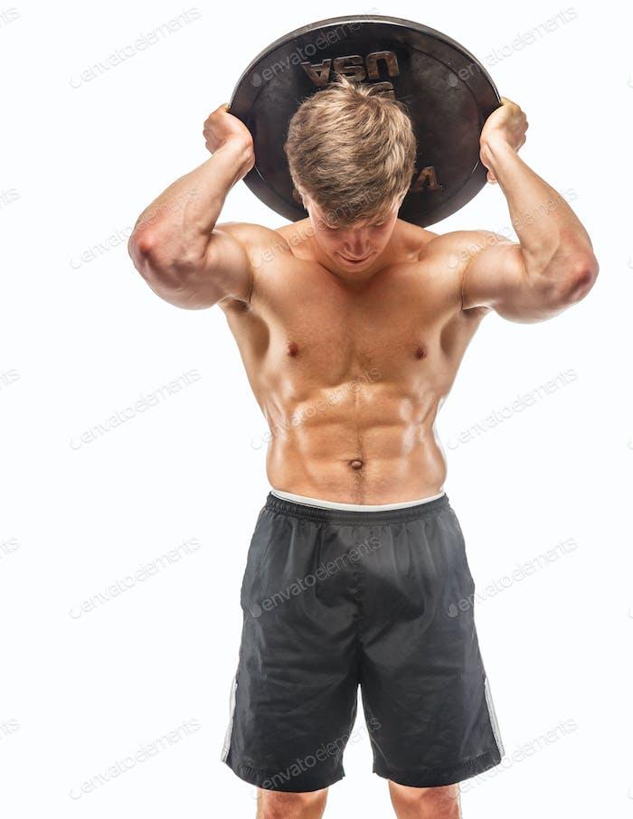 Awesom junger muskulöser Kerl