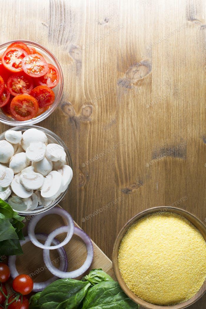 Polenta Dinner Ingredients